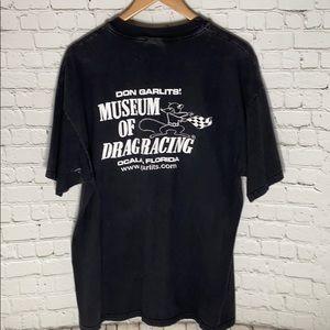 Hanes Shirts - Vintage 1993 Don Garlits Museum of Drag Racing tee
